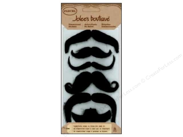 Jolee's Boutique Stickers Parcel Large Moustaches