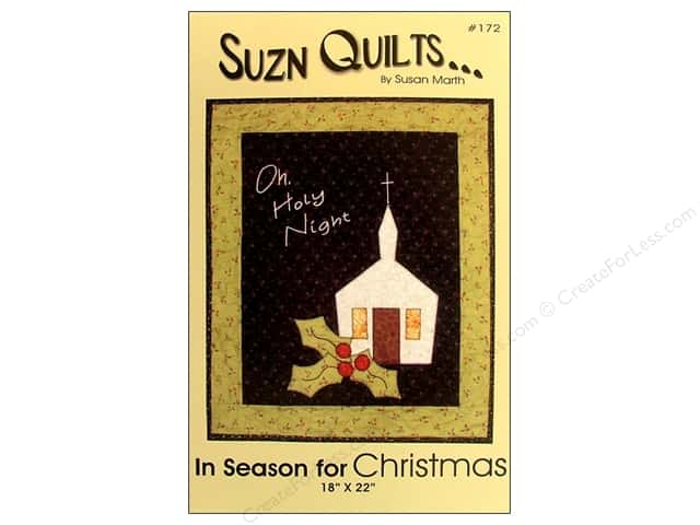 Suzn Quilts In Season for Christmas Pattern