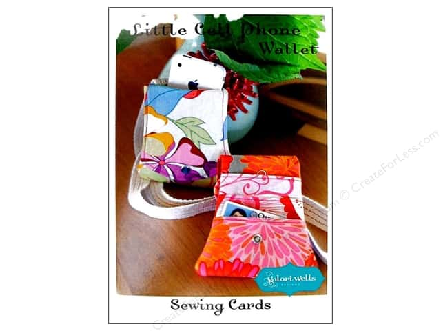 Stitchin' Post Little Cell Phone Wallet Sewing Card Pattern