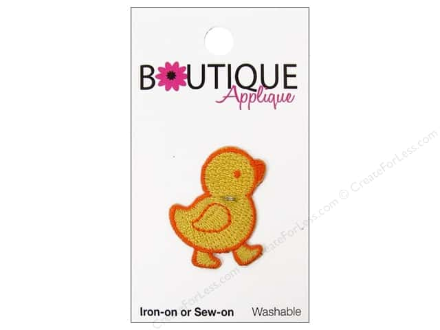Blumenthal Boutique Applique Yellow Chick
