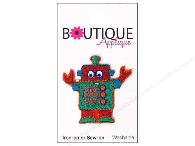 Blumenthal Boutique Applique 1 1/2 in. Robot