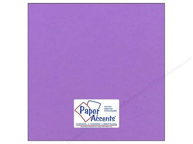 Paper Accents Cardstock 12 x 12 in. #70 Smooth Grape Soda (25 sheets)