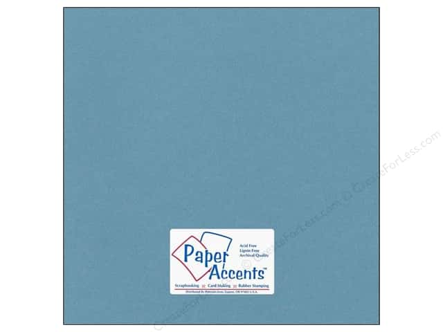 Paper Accents Cardstock 12 x 12 in. #77 Smooth Dusty Blue (25 sheets)