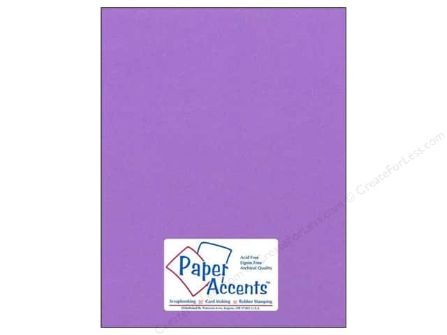 Cardstock 8 1/2 x 11 in. #160 Smooth Grape Soda by Paper Accents (25 sheets)