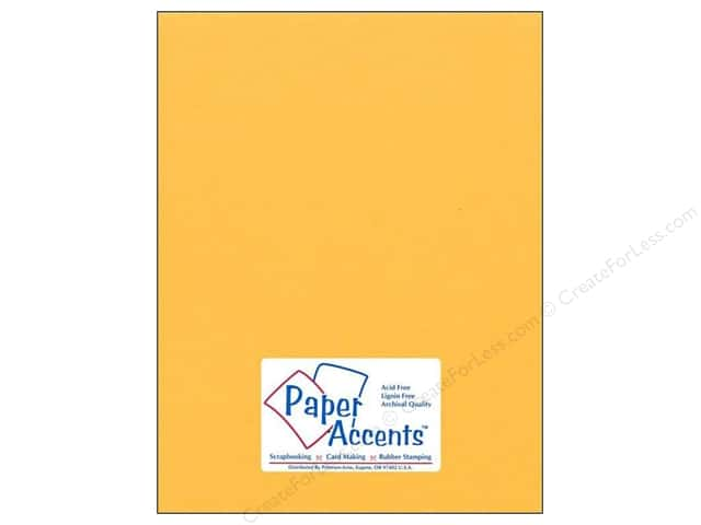 Cardstock 8 1/2 x 11 in. #75 Smooth Dusty Gold by Paper Accents (25 sheets)