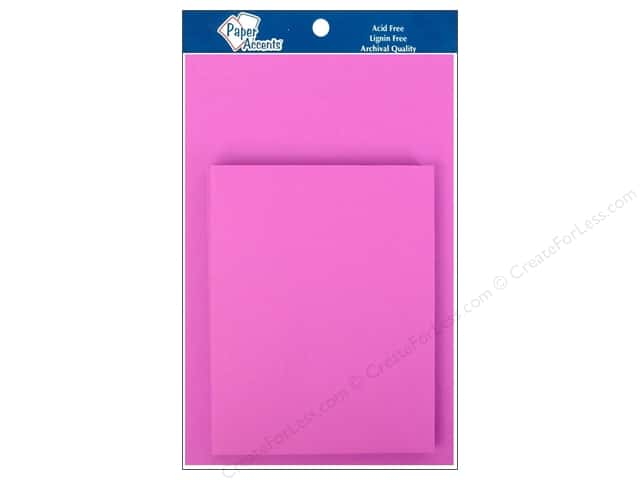 4 1/4 x 5 1/2 in. Blank Card & Envelopes by Paper Accents 10 pc. Purple