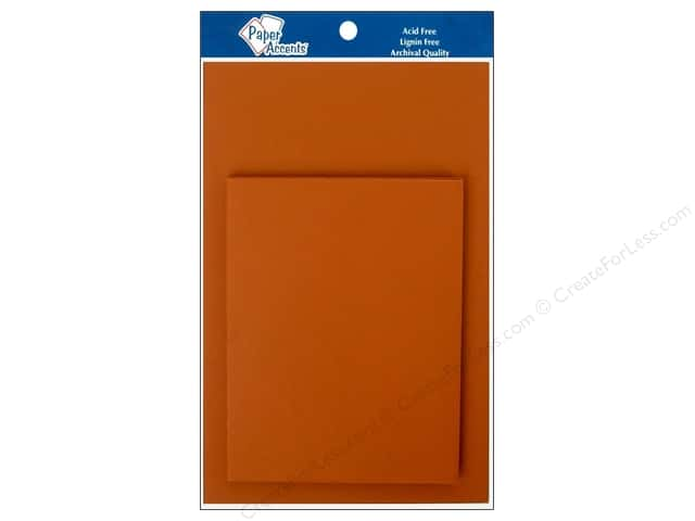 4 1/4 x 5 1/2 in. Blank Card & Envelopes by Paper Accents 8 pc. Cumin