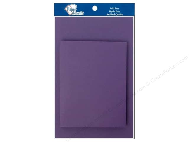 4 1/4 x 5 1/2 in. Blank Card & Envelopes by Paper Accents 8 pc. Hyacinth