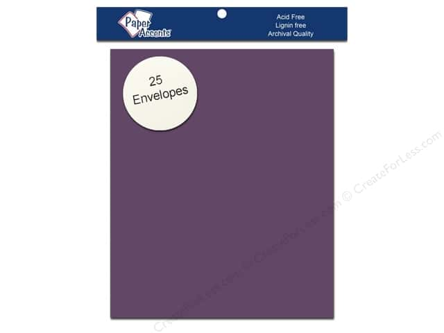 4 1/4 x 5 1/2 in. Envelopes by Paper Accents 25 pc. #78 Dusty Purple