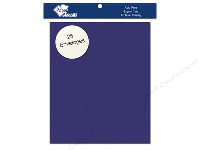 4 1/4 x 5 1/2 in. Envelopes by Paper Accents 25 pc. #159 Royal Blue