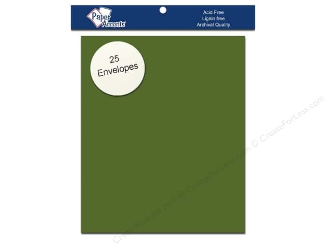 4 1/4 x 5 1/2 in. Envelopes by Paper Accents 25 pc. #10105 Green Parrot