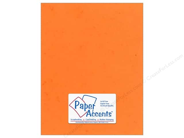 Paper Accents Cardstock 8 1/2 x 11 in. #297 Butcher Orange (25 sheets)