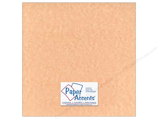 Paper Accents Cardstock 12 x 12 in. #217 Parchment Ginger Ale (25 sheets)