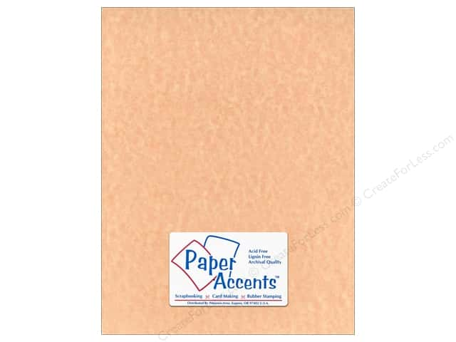 Cardstock 8 1/2 x 11 in. #217 Parchment Ginger Ale by Paper Accents (25 sheets)