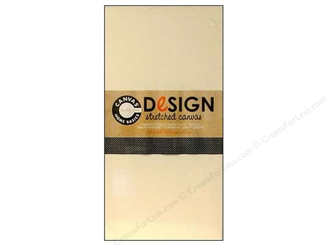 Canvas Corp Stretched Canvas 12 x 24 in. Natural