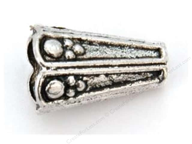 Sweet Beads Fundamental Finding Cone 9 x 19 mm Antique Silver 8pc
