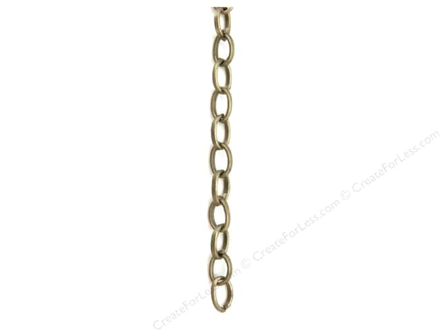 Sweet Beads Fundamental Finding Cable Chain 48 in. Antique Gold