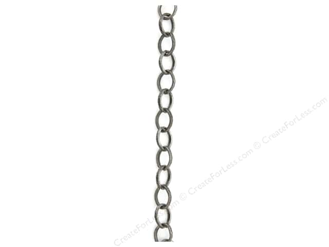 Sweet Beads Fundamental Finding Cable Chain 48 in. Antique Silver