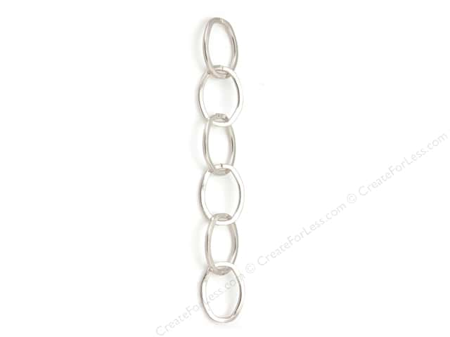 Sweet Beads Fundamental Finding Cable Chain 30 in. Silver