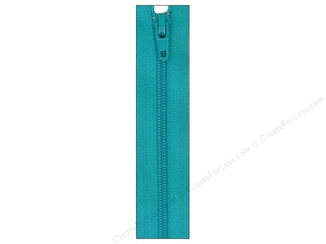 Atkinson Designs Zipper 14 in. Turquoise Splash by YKK