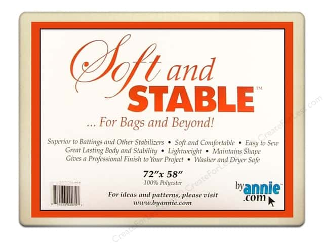 By Annie Soft And Stable Stabilizer 72 x 58 in. White