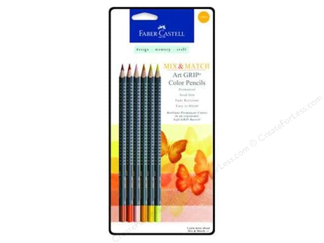FaberCastell Art GRIP Color Pencils Yellow