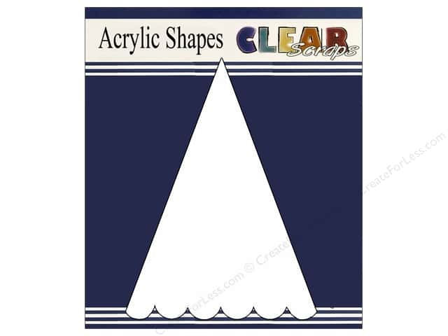 Clear Scraps Clear Banners 5 pc. Small