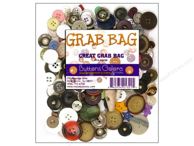 Buttons Galore Great Grab Bag 10 oz.