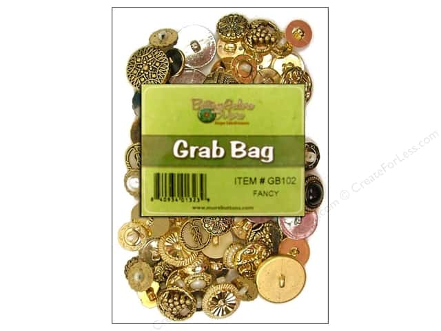 Buttons Galore Grab Bag 6 oz. Fancy Gold