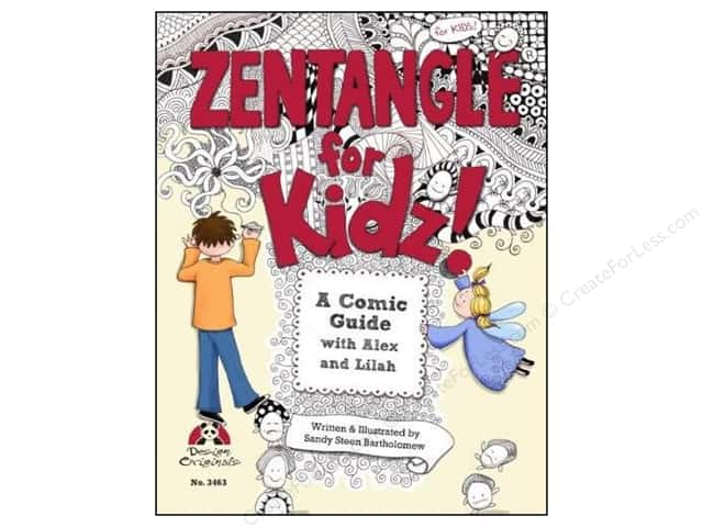 Design Originals Zentangle for Kidz Book