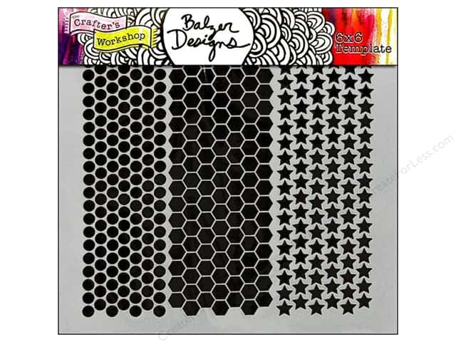 The Crafter's Workshop Template 6 x 6 in. Punchinella