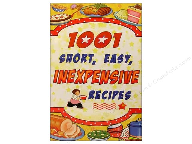 Cookbook Resources Books 1001 Short Easy Inexpensive Recipes Book
