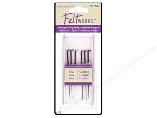 Dimensions Replacement Felting Needles 6 pc.