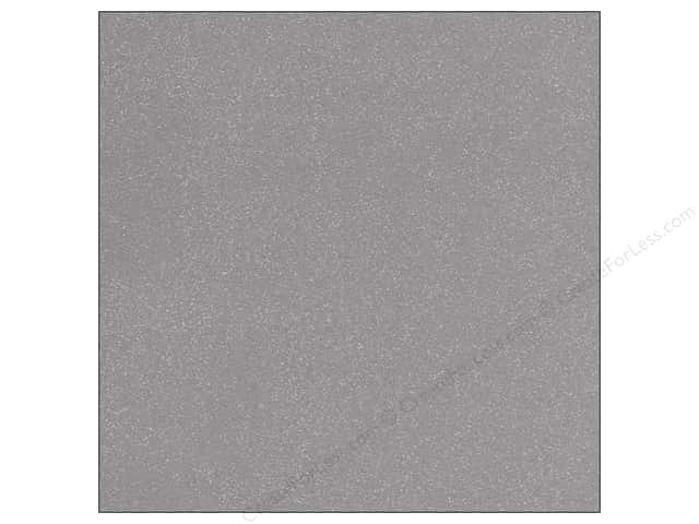 Doodlebug 12 x 12 in. Paper Sugar Coated Silver (25 sheets)