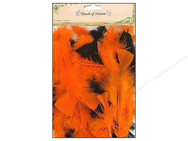 Midwest Design Turkey Flat Feathers 14 gm. 4 - 6 in. Halloween