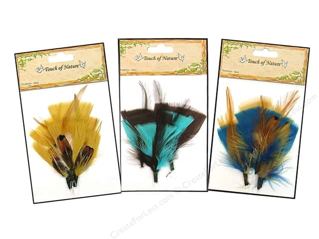 Midwest Design Turkey Feather Pick 3 pc. 3 in. Assorted