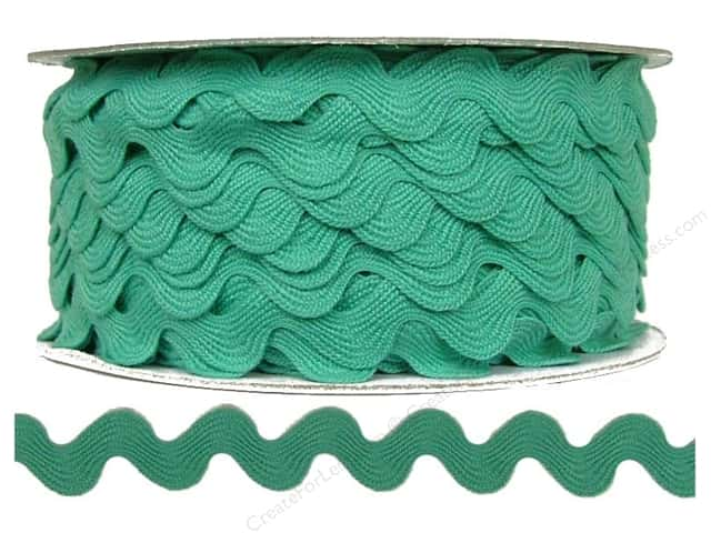 Ric Rac by Cheep Trims  11/16 in. Aqua (24 yards)