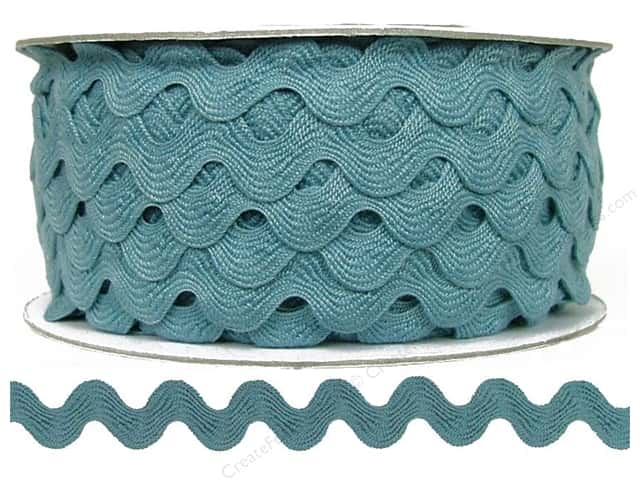 Cheep Trims Ric Rac 11/16 in. Dusty Blue