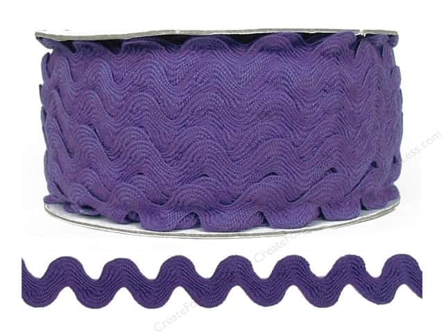 Cheep Trims Ric Rac 11/16 in. Hyacinth