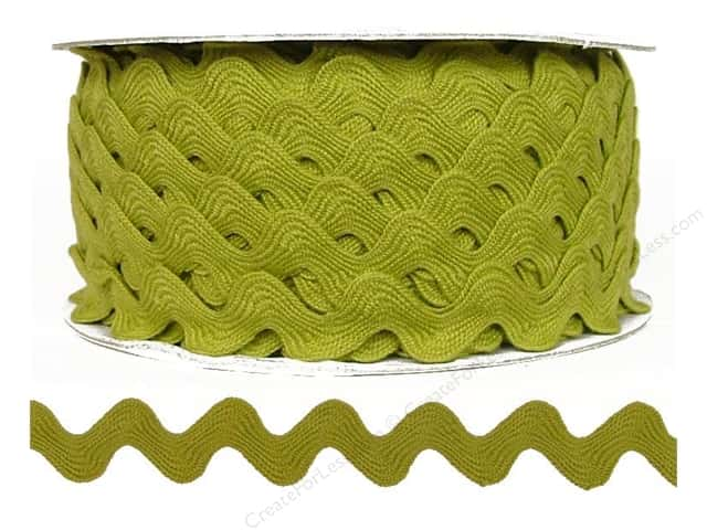 Cheep Trims Ric Rac 11/16 in. Chartreuse