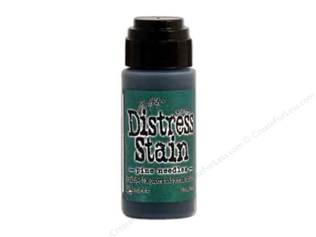 Tim Holtz by Ranger Distress Stain 1 oz. Pine Needles