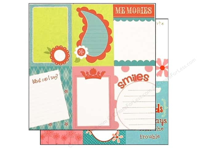 Bazzill 12 x 12 in. Paper Lickety Slip Divinely Sweet Vertical 25 pc.