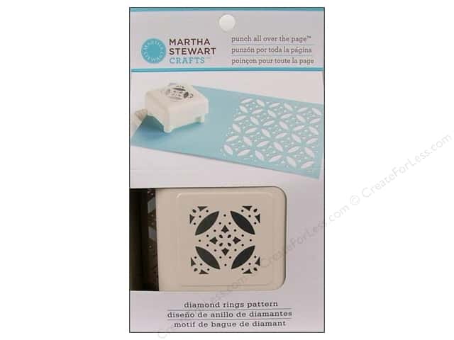 Martha Stewart Punch All Over The Page Diamond Rings Pattern