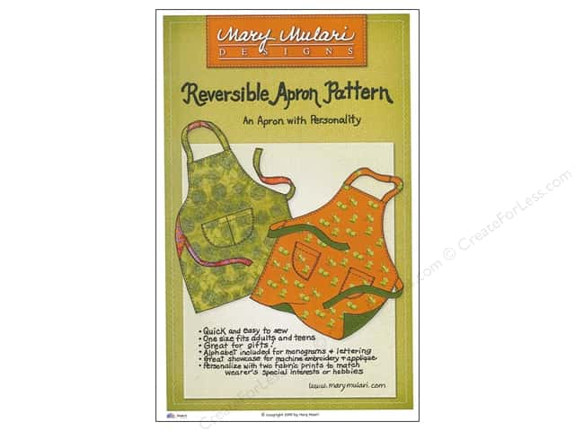 Mary Mulari Reversible Apron Pattern