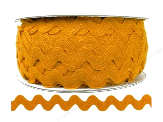 Ric Rac by Cheep Trims  11/16 in. Gold (24 yards)