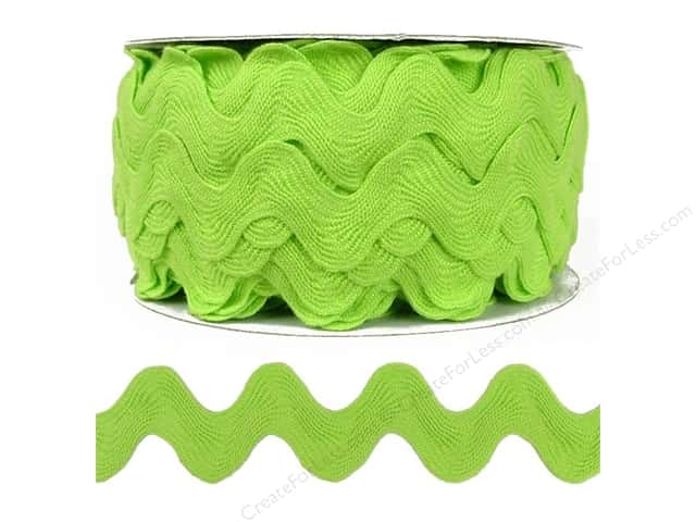 Ric Rac by Cheep Trims  1 in. Apple (24 yards)