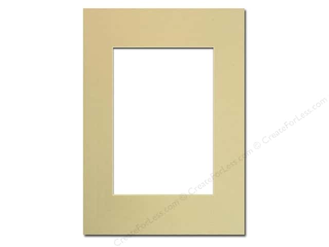 Pre-cut Photo Mat Board by Accent Design Cream Core 5 x 7 in. for 3 1/2 x 5 in. Photo Beach