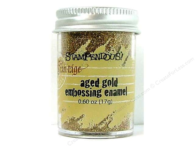 Stampendous Fran-Tage Embossing Enamel .60 oz.  Aged Gold