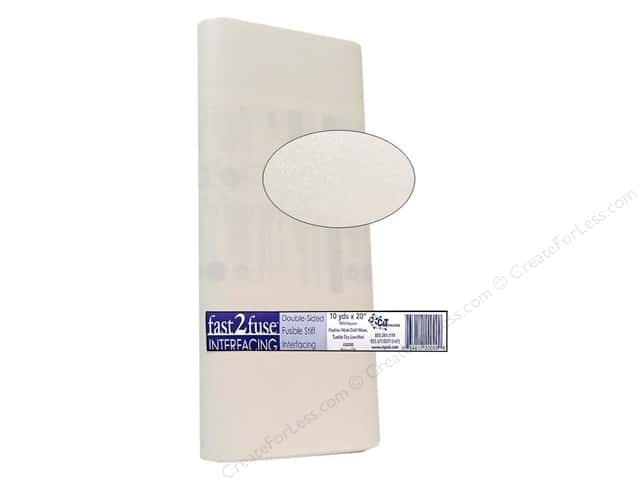 C&T Fast2Fuse Interfacing Medium Weight 20 in. x 10 yd. White