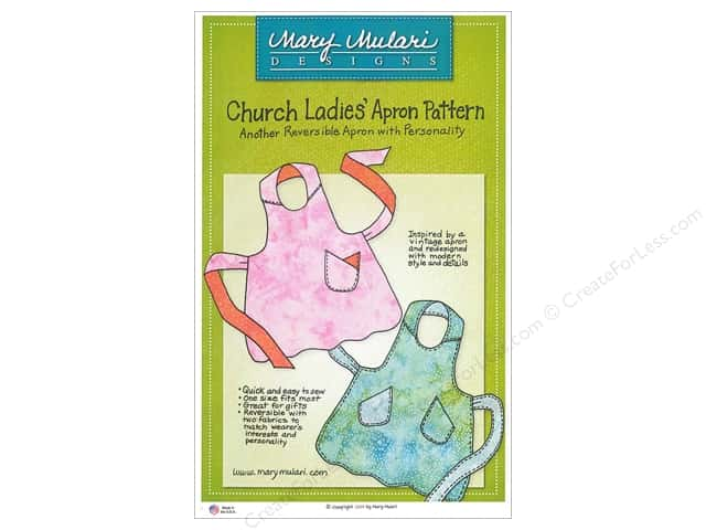 Mary Mulari Church Ladies Apron Pattern